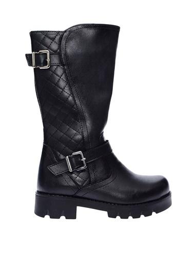 Pink Step Çizme Siyah